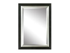 Specchio rettangolare in legno e vetro con cornice da pareteDRECHT - MONDIART INTERNATIONAL