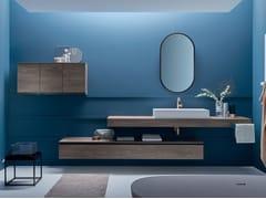 Top scatolato con lavabo in appoggioDRESS | Piano lavabo - ARBLU