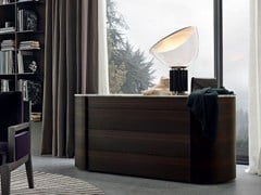 Cassettiera in legno impiallacciato ONDA | Cassettiera - Onda