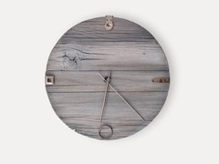 Orologio da parete in legno di recuperoDRIFTWOOD - REVÌ – UPCYCLING FURNITURE DESIGN