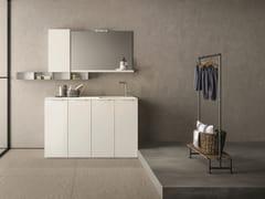 Mobile lavanderia componibileDROP - COMPOSIZIONE D10 - NOVELLO