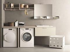 NOVELLO, DROP - COMPOSIZIONE D15 Mobile lavanderia componibile