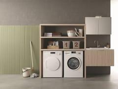 NOVELLO, DROP - COMPOSIZIONE D16 Mobile lavanderia componibile
