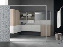 Mobile lavanderia componibileDROP - COMPOSIZIONE D02 - NOVELLO