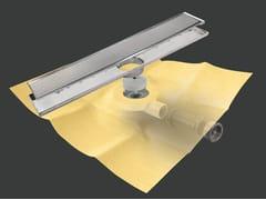 Scarico per doccia in metallo DRY50 LINEARE FLAT MC - Dry