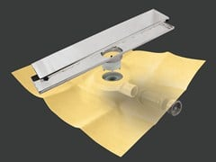 Scarico per doccia in metallo DRY50 LINEARE FLAT - Dry