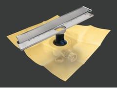 Scarico per doccia in metallo DRY50 LINEARE PREMIER MC - Dry