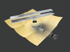 Revestech, DRY50 LINEAL SLIM REVESTIBLE Scarico per doccia in acciaio