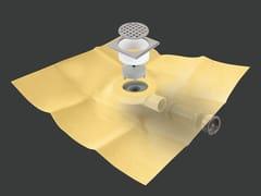Revestech, DRY50 SUMI FLAT LUXE Scarico per doccia in metallo