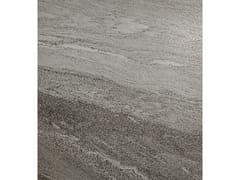 Pavimento/rivestimento in gres porcellanato effetto pietraDUALMOOD DARK GREY - CERAMICHE COEM