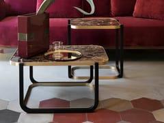 Tavolino da caffè in marmo DUET | Tavolino in marmo -