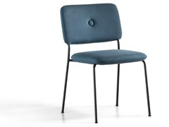 Sedia impilabile in tessutoDUNDRA 4   Sedia - BLÅ STATION