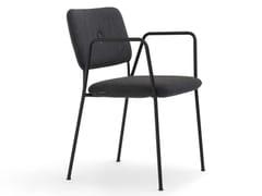 Sedia impilabile in tessuto con braccioliDUNDRA 4 | Sedia impilabile - BLÅ STATION