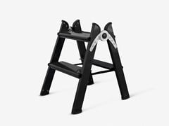 FERRAL, DUO 2 STEPS BLACK Scaletta in alluminio