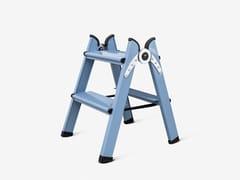 FERRAL, DUO 2 STEPS BLUE Scaletta in alluminio
