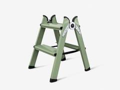 FERRAL, DUO 2 STEPS GREEN Scaletta in alluminio