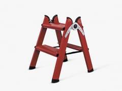FERRAL, DUO 2 STEPS RED Scaletta in alluminio
