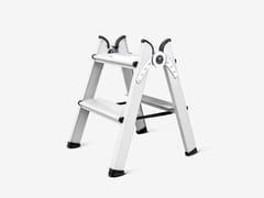 FERRAL, DUO 2 STEPS WHITE Scaletta in alluminio