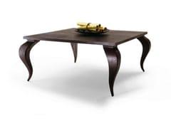 Tavolo da pranzo quadrato in legno masselloDUONG - FRATELLI BOFFI