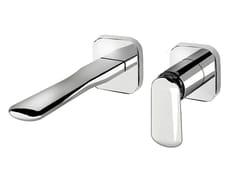 Miscelatore per lavabo a muro monocomando in ottone DYNAMICA 88 - 8818108 - Dynamica 88