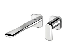 Miscelatore per lavabo a muro monocomando in ottone DYNAMICA 88 - 8818208 - Dynamica 88