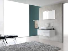 Sistema bagno componibile E.45 COMPOSIZIONE 1 - e.45