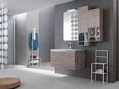 Sistema bagno componibile E.GÒ - COMPOSIZIONE 28 - E.Gò