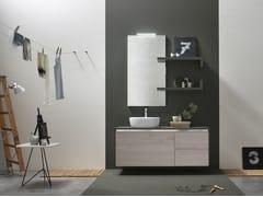 Sistema bagno componibile E.GÒ - COMPOSIZIONE 51 - E.Gò
