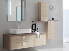 Sistema bagno componibileE.LY - COMPOSIZIONE 12 - ARCOM