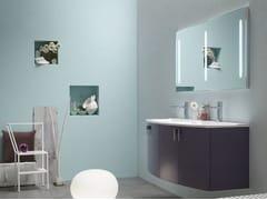 Sistema bagno componibileE.LY - COMPOSIZIONE 53 - ARCOM