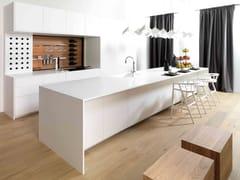 Cucina componibile laccata con isolaE4.00 - GAMADECOR
