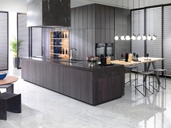 Cucina componibile con isolaE7.30   Cucina con isola - GAMADECOR - PORCELANOSA GRUPO