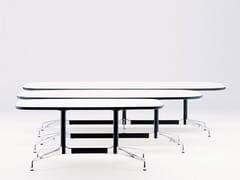 Tavolo da riunione ovale EAMES TABLES | Tavolo da riunione ovale -