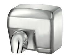 Asciugamani elettrico automatico in acciaio satinato EASY 02650/IS   Asciugamani elettrico in acciaio satinato - Easy