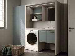 MOBIL CRAB, EASY 12 Mobile lavanderia componibile per lavatrice