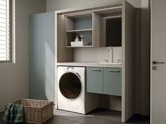Mobile lavanderia componibile per lavatriceEASY 12 - MOBIL CRAB