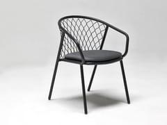 Sedia da giardino in alluminio con braccioliNEF | Sedia da giardino - EMU GROUP