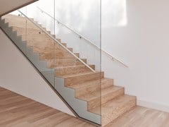 Q-RAILING ITALIA, EASY GLASS® WALL Parapetto in vetro