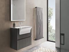 Mobile lavanderia sospeso in polimerico con lavatoioEASY WASH - COMPOSIZIONE 11 - ALPEMADRE