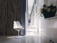 Inkiostro Bianco, EBONY Carta da parati effetto legno panoramica