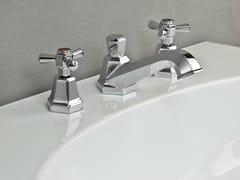 Rubinetto per lavabo a 3 fori ECCELSA 3224P - Eccelsa