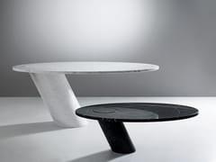 Tavolo ovale in marmoECCENTRICO | Tavolo - AGAPECASA