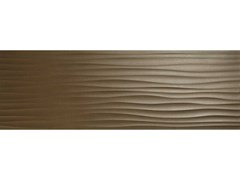 Rivestimento tridimensionale in ceramica ECLETTICA | Str. Wave 3D Bronze - MARAZZI GROUP