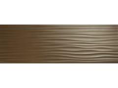 Rivestimento tridimensionale in ceramicaECLETTICA | Str. Wave 3D Bronze - MARAZZI GROUP