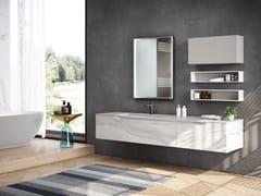 Mobile lavabo sospeso con cassettiECLIPSE 04 - GRUPPO GEROMIN