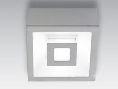 Lampada da soffitto in alluminio pressofusoECLIPSE QUADRA | Lampada da soffitto - AILATI LIGHTS BY ZAFFERANO