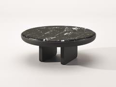 Tavolino rotondo in marmo Nero MarquinaECO | Tavolino in marmo Nero Marquina - BABATO 1934