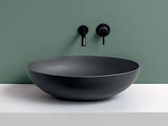 Lavabo da appoggio ovale in ceramicaECO - CERAMICA CIELO