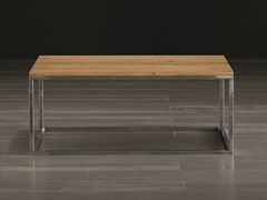 Tavolino da caffè rettangolare in legno masselloECO | Tavolino - ALTA CORTE