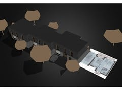 Quartiere modulare prefabbricatoECO-QUARTIER – MOON - POPUP HOUSE